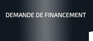demande de financement